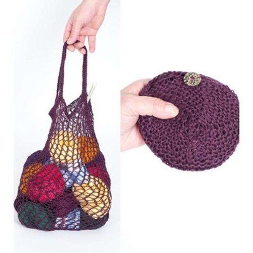 Louet Knitted and Crocheted Pouch Bag PDF -  ()