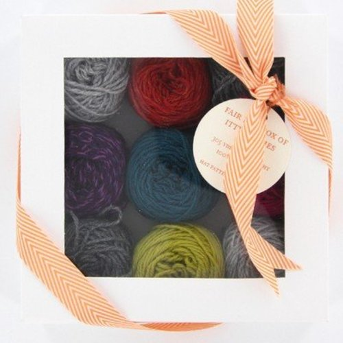 Lux Adorna Knits Fair Isle Box of Itty Bitties - Celebration (CELEBRATIO)