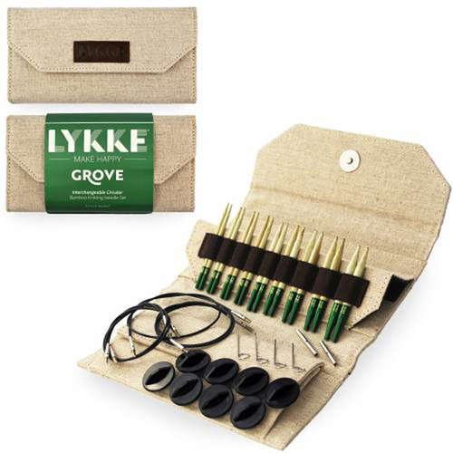 "Lykke Grove Bamboo 3.5"" Interchangeable Circular Needle Set -  ()"