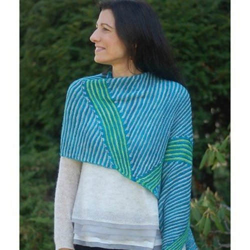 Lyrical Knits Jagged Little Shawl PDF -  ()