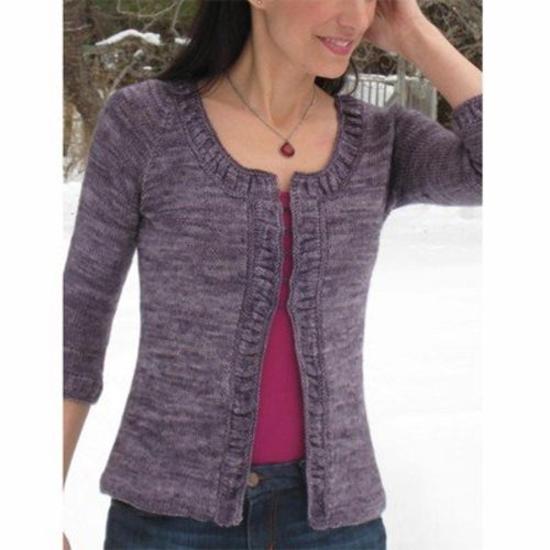 Lyrical Knits Making Waves Cardigan PDF -  ()