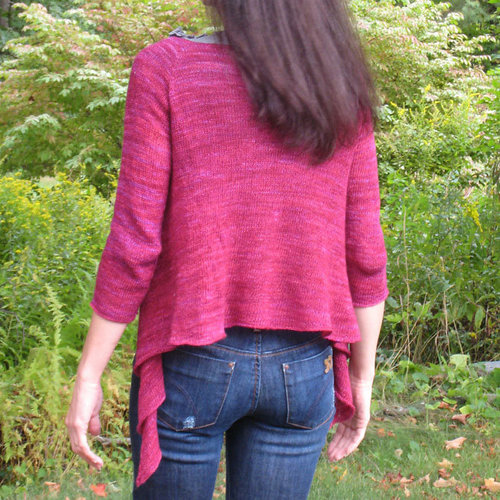 Lyrical Knits Simplicity Cardigan PDF -  ()