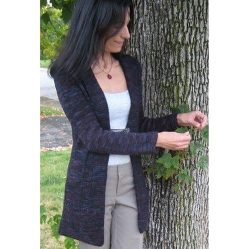 Lyrical Knits Swift River Cardigan PDF -  ()
