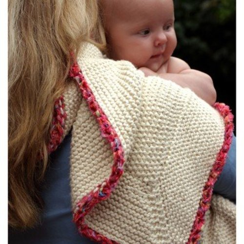 Mac & Me 059 Organic Cotton Baby Blanket PDF -  ()