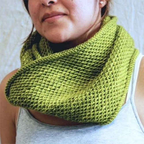 Madelinetosh Honey Cowl (Free) at WEBS | Yarn com