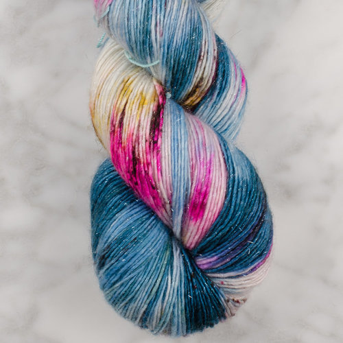 Madelinetosh Tosh Merino Light Glitter - Accra Evening (ACCRAE)