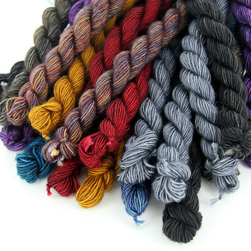 Madelinetosh Unicorn Tails 16-Skein Grab Bags -  ()