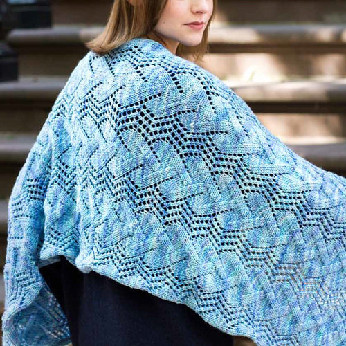 Malabrigo St. Marks Kit - Aquamarine - Model (1)