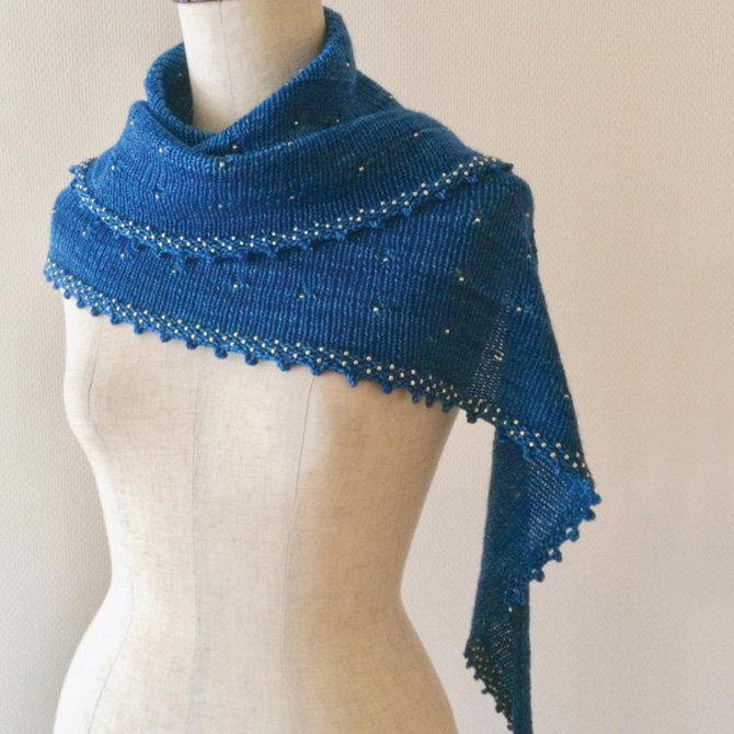 Beaded Lace Knitting /& More Scarves Techniques /& 25 Beaded Lace Designs for Shawls