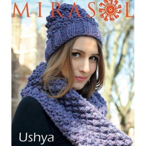 Mirasol 5021 Bramble Double Cowl and Hat Set PDF -  ()