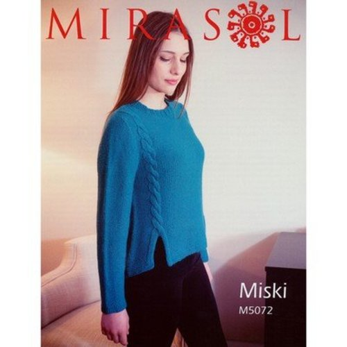 Mirasol 5072 Twisted Edge High/Low Pullover -  ()