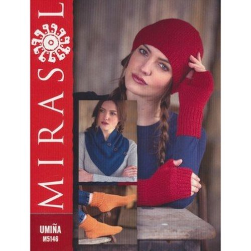 Mirasol 5146 Neck Wrap, Socks, Hat & Fingerless Gloves -  ()