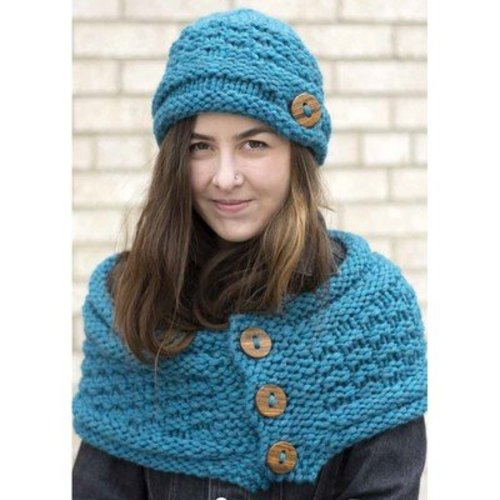 Mirasol Bella Hat and Cowl PDF -  ()