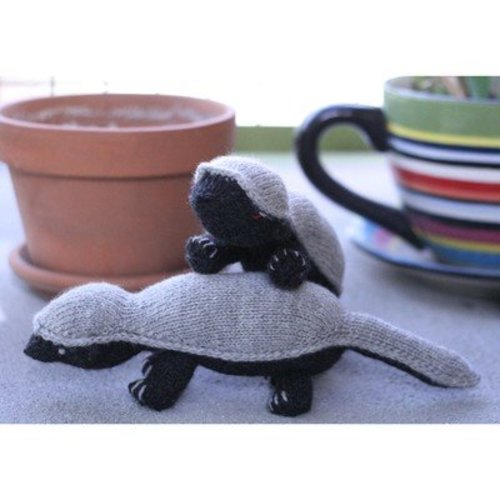 Miriam Felton Honey Badger Stuffie PDF -  ()