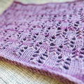 Mrs. Crosby Due Capre Lace Cowl Kit - Wild Huckleberry (HUCKLE)