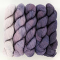 Mrs. Crosby Fading Point Yarn Pack - Faded Midnight Aubergine (MIDN)