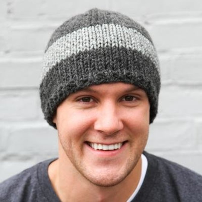 My Mountain Schachenmayr WEBS Watch Cap (Free) at WEBS | Yarn.com