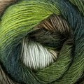 Nako Arya Ebruli - Forest Green, Brown, Lime, Pale Green (410)