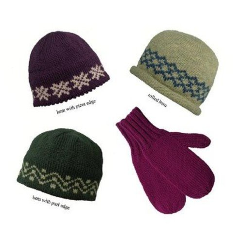 Nancy Lindberg Straight Needle Hat & Mittens -  ()