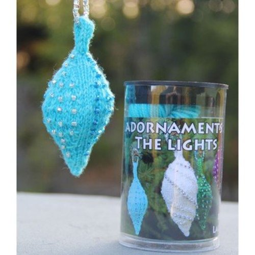 Nelkin Designs Beaded Lights Adornaments Kit - Lights: Aqua (blue) (LIGHTSAQUA)