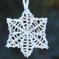 Nelkin Designs Beaded Stars Adornaments Kit - Stars: Icicle (white-white) (STARSICICL)