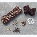 Nelkin Designs Beaded Waves Cuff Kit - Dark Roast (WAVESDARKR)