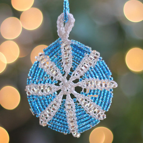Nelkin Designs Star of Butin Ornament Kit - Glacier (blue) (GLACIER)