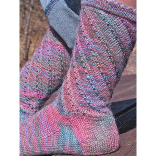 Nelkin Designs Whirling Socks PDF -  ()