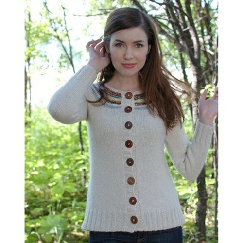 Never Not Knitting Playful Stripes Cardigan (Adult) PDF -  ()