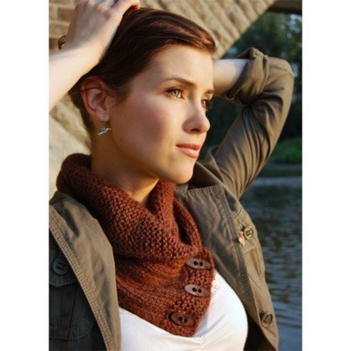 Never Not Knitting Shawl Collared Cowl PDF -  ()