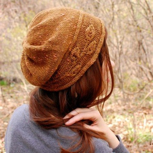 Never Not Knitting Sprig Cloche PDF -  ()