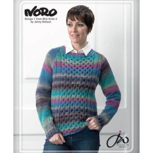 Noro 01 Sweater PDF - Designer Mini Knits 4 -  ()