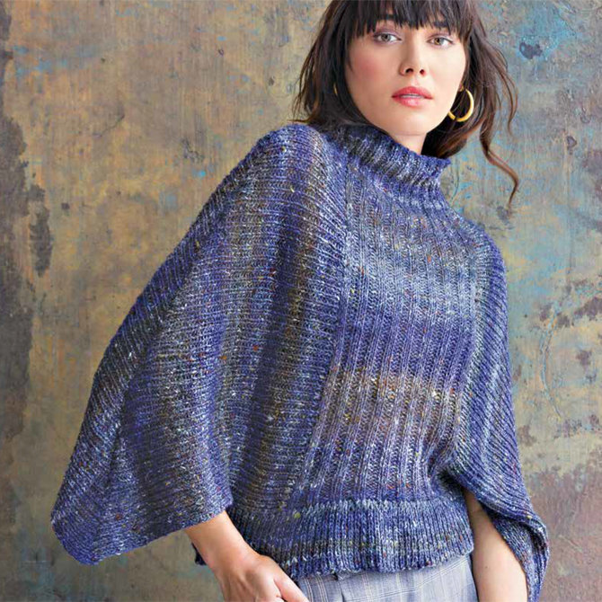 492fb0ffd7 Noro 1304 Ribbed Batwing Pullover PDF at WEBS