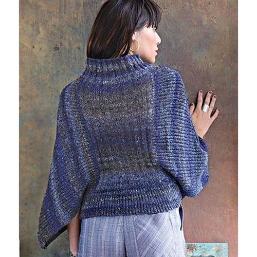 Noro 1304 Ribbed Batwing Pullover PDF -  ()