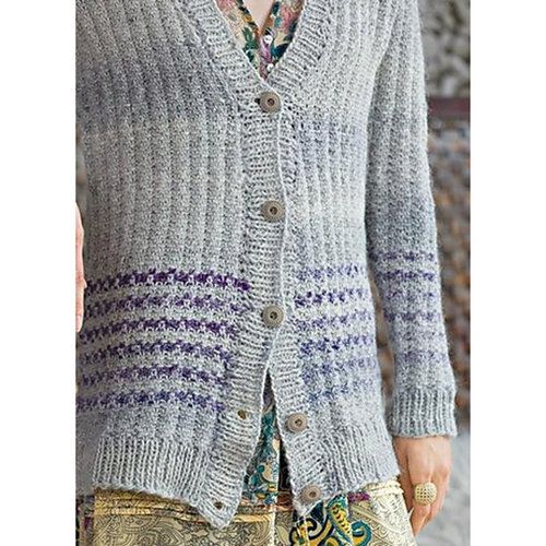 Noro 1306 Striped Cardigan PDF -  ()