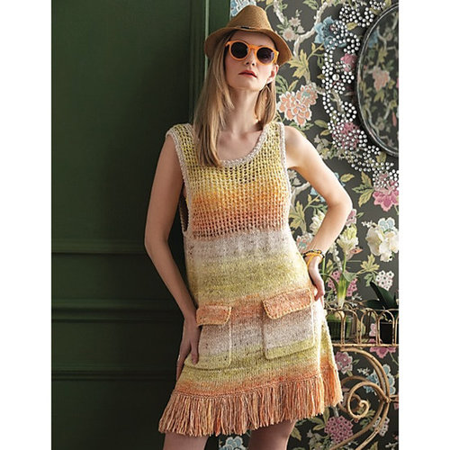 Noro 1405 Fringed Dress PDF -  ()
