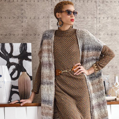Noro 1504 Long Cardigan Kit - S-XL with PDF (01)