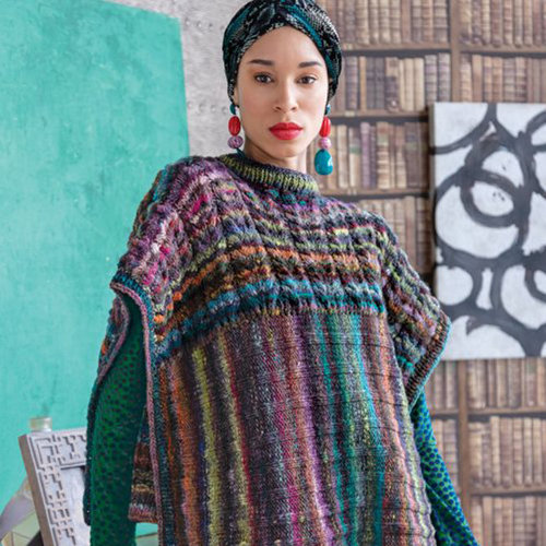 Noro 1509 Two Direction Poncho Kit - With PDF (01)