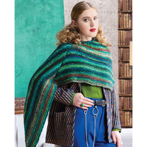 Noro 1510 Pointed Poncho Kit - Model (01)