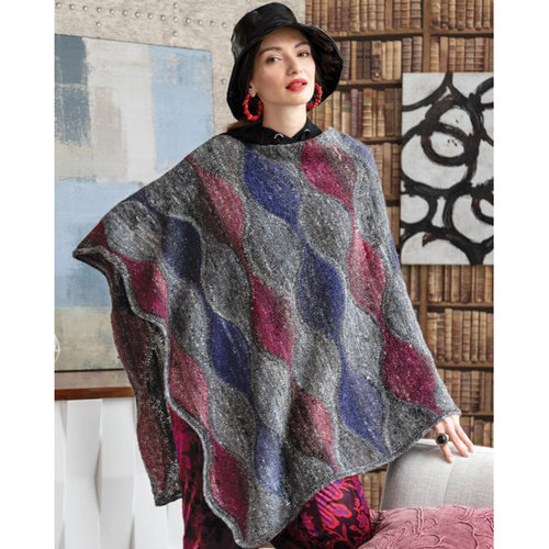 Noro #12 Wave Pattern Poncho Kit -  ()