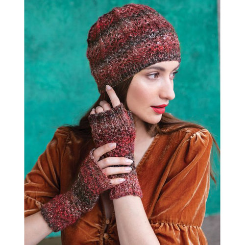 Noro 1517 Hat & Fingerless Mitts PDF -  ()