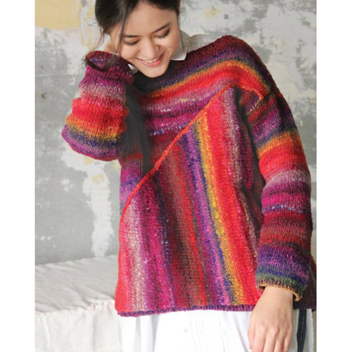 Noro 1524 Asymmetrical Pullover Kit - Yarn Only (02)