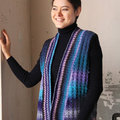 "Noro 1528 Textured Vest Kit - 39½"" Yarn Only (07)"