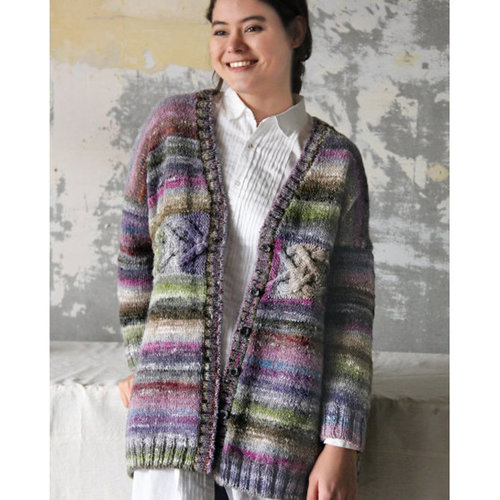 Noro 1529 Horizontal Cable Cardi Kit - With PDF (01)