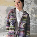 Noro 1529 Horizontal Cable Cardi Kit - Yarn Only (02)