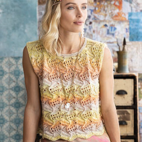 "Noro 1606 Lace Sleeveless Top Kit - 37"" (01)"
