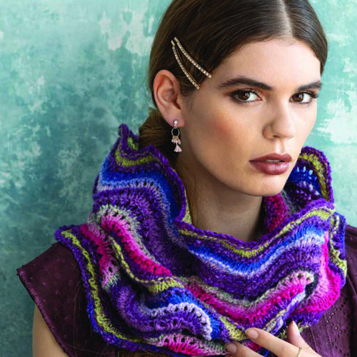 Noro 1610 Old Shale Cowl PDF -  ()