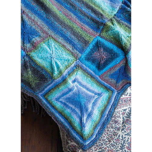 Noro 1617 Perfectly Square Throw PDF -  ()