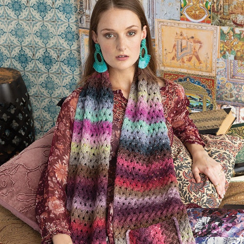 Noro 1622 Lace Cable Scarf PDF -  ()