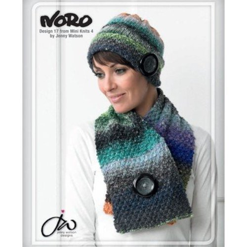 Noro 17 Hat And Neck Scarf PDF - Designer Mini Knits 4 -  ()